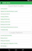 Screenshot of Linode Manager
