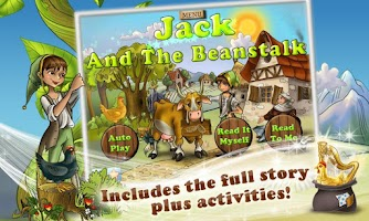 Screenshot of Jack & the Beanstalk Kids Book
