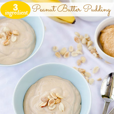 3-Ingredient Peanut Butter Pudding