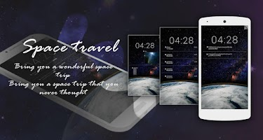 Screenshot of Z SPACETRAVEL GO LOCKER THEME