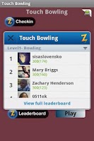 Screenshot of Touch Bowling