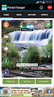 Screenshot of WI State Parks & Forests Guide