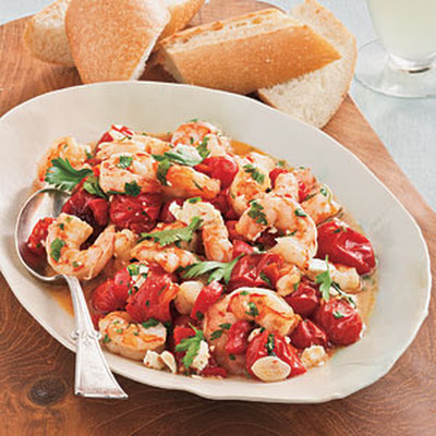 Roasted Tomato-and-Feta Shrimp