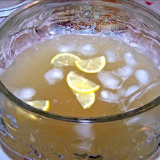 Lemon Champagne Punch