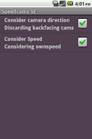 Screenshot of Speedcams-SE