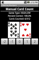 Screenshot of Count'em Blackjack PRO