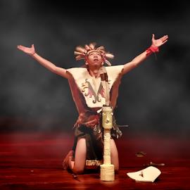 dayak by Roy d'Sanzero - News & Events Entertainment ( ritual, news, entertainment, dayak, newspaper )
