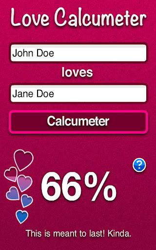 Love Calcumeter