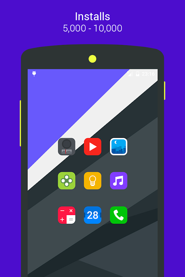 Goolors Elipse - icon pack Screenshot 10