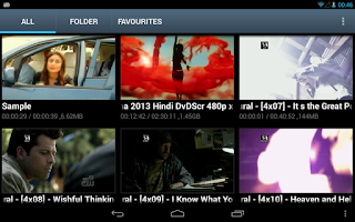 Screenshot of SR Player (Video Player)