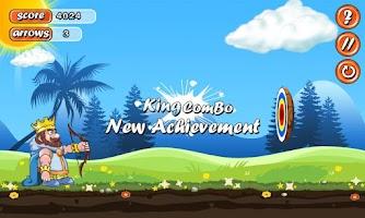 Screenshot of Archery King