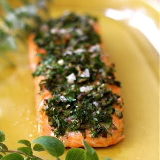 Baked Salmon with Herbs & Lemon