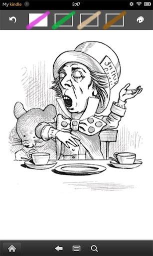 Alice - a coloring book