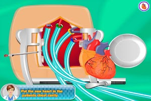 Screenshot of Heart Surgery - First Aid