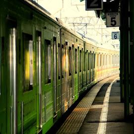 by Zulfikar Achmad - Transportation Trains