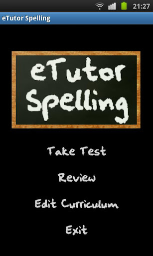 eTutor Spelling