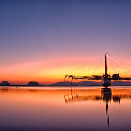 Sunrise On TPI Sape by Bagus Santoso - Landscapes Sunsets & Sunrises (  )