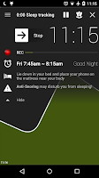Screenshot of Sleep as Android Unlock