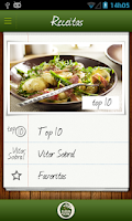 Screenshot of Receitas 15qb