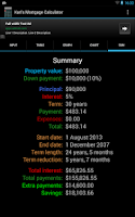 Screenshot of Karl's Mortgage Calculator