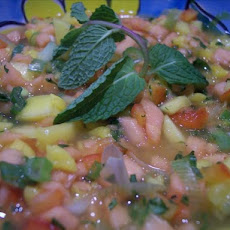 Spicy Tropical Fruit Salsa