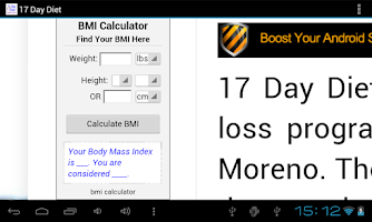 Screenshot of 17 Day Diet
