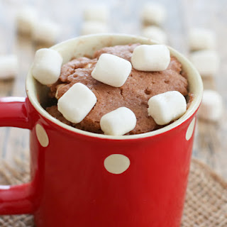 Hot Chocolate Mug Cake