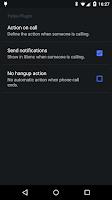 Screenshot of Yatse Call Plugin