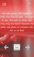 Screenshot of Love and Romance Quotes