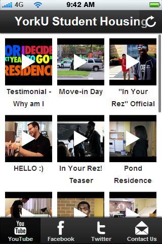 YorkU Housing Residence