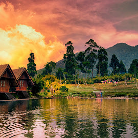 Keep Bandung Beautiful Euy by Max Bowen - Landscapes Waterscapes