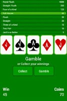 Screenshot of Video Poker Collection