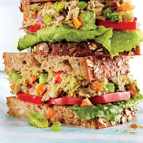 Tuna Avocado Sandwich