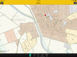 Screenshot of GIS SHmobile