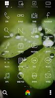 Screenshot of Morning Green dodol theme