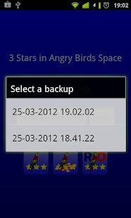 Screenshots  3 Stars in Birds Space