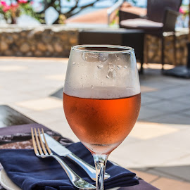 A cols wine on a hot day by Vibeke Friis - Food & Drink Alcohol & Drinks ( wine, rose,  )