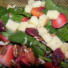 Spicy Strawberry Spinach Salad