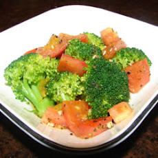 Herbed Broccoli Spears