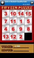 Screenshot of Fifteen Puzzle