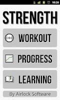 Screenshot of Strength Lite: Workout Log