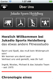 Jukadio Sports Heidelberg - screenshot