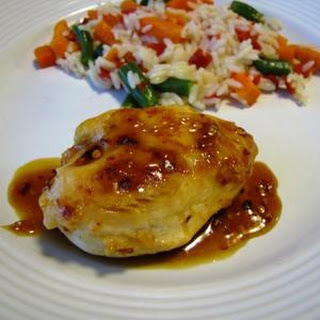 Orange Glazed Chicken Breast