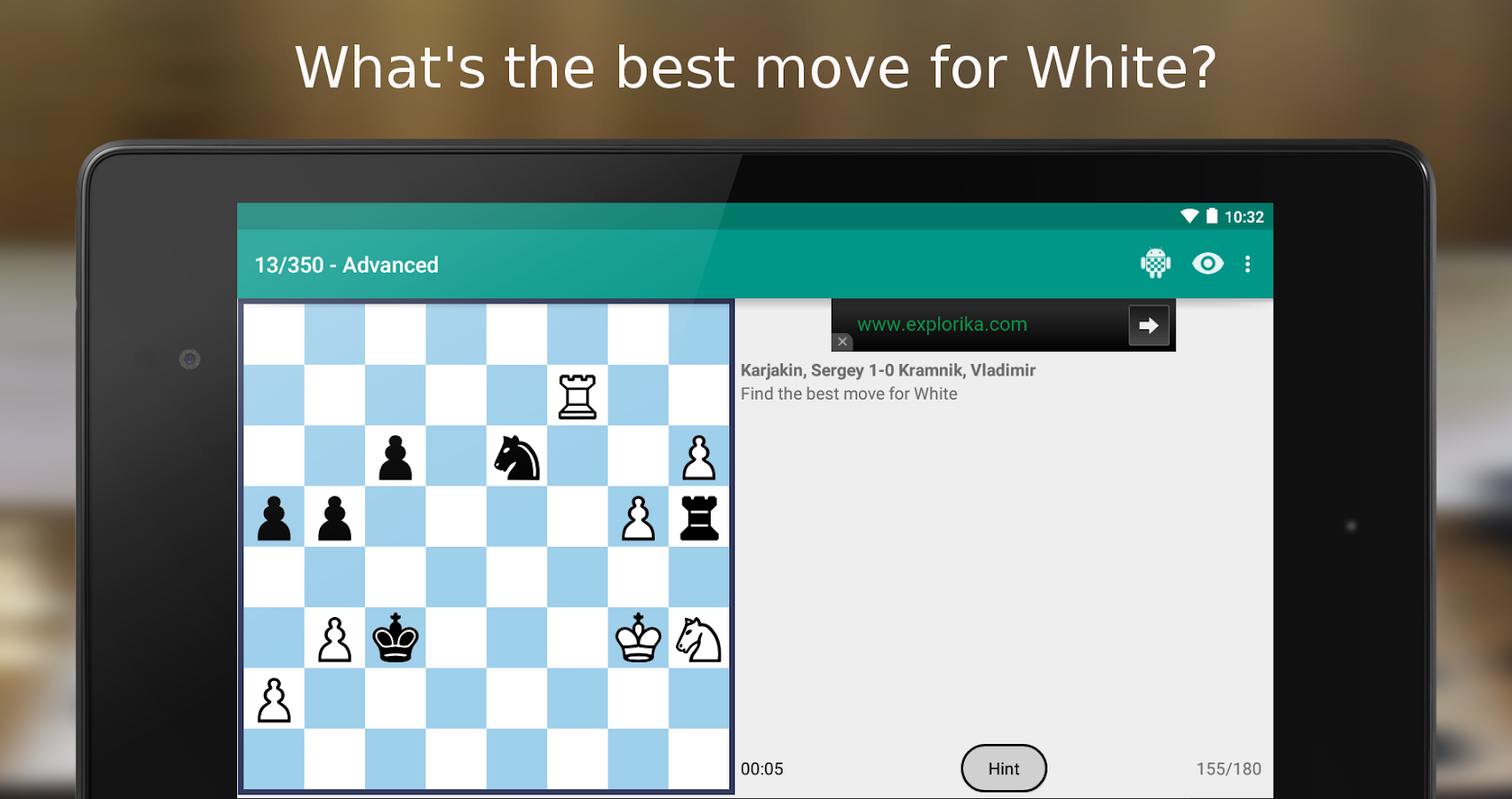 iChess - Chess Tactics/Puzzles Screenshot 5