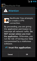 Screenshot of NeoRouter VPN Professional
