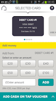 Screenshot of EE Tap Wallet - Cash on Tap