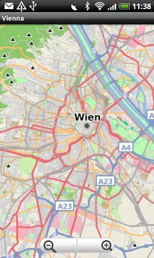 Vienna Wien Street Map