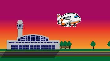 Screenshot of 大空にはばたけ!ジェット飛行機アプリ