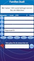 Screenshot of Familien Quiz Duell