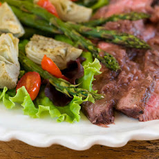 Grilled Rosemary Merlot Flank Steak